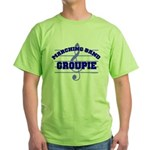 Marching Band Groupie Green T-Shirt