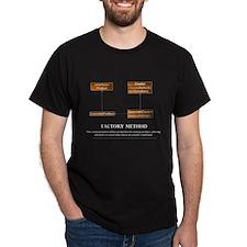 Factory Method Pattern Dark T-shirt