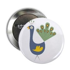 "Peacock 2.25"" Button (10 pack)"