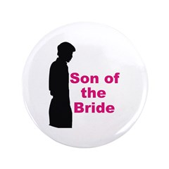 "Silhouette Son of the Bride 3.5"" Button"