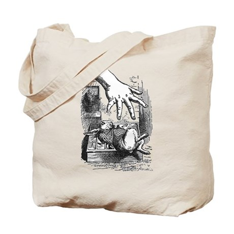 Rabbit and Arm Tote Bag