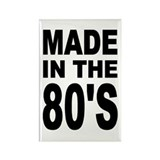 'Made in the 80's' Rectangle Magnet