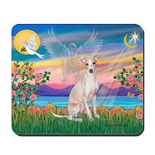 Guardian Angel / Ital Greyhound Mousepad