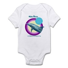 Dolphin White Blotch Infant Bodysuit