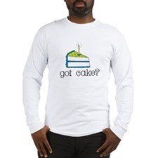 got cake? (blue) Long Sleeve T-Shirt
