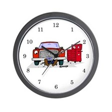 Mechanic Wall Clock
