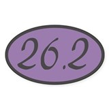 26.2 Oval Sticker (50 pk)