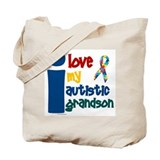 I Love My Autistic Grandson 1 Tote Bag