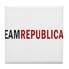 TeamRepublican Tile Coaster
