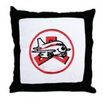 Janet Fleet Throw Pillow