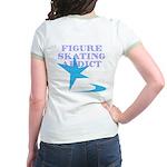 Ice Skating Jr. Ringer T-Shirt