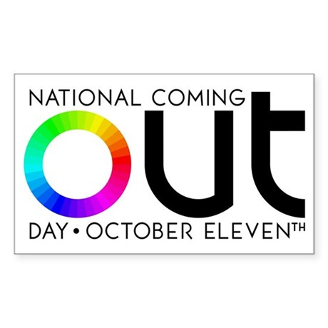 The Big OUT Rectangle Sticker 50 pk)