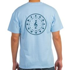 New Blue Circle of Fifths T-Shirt