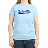 Vintage Asheville (Blue) T-Shirt