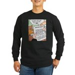 Pumpkin Resume Fairy Tale Long Sleeve Dark T-Shirt