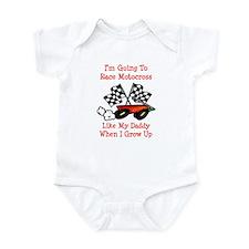 Race Motocross Like Daddy Infant Bodysuit