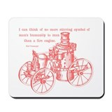 Vonnegut Quote Mousepad