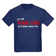 I'm the middle child Kids Dark T-Shirt