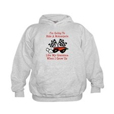 Ride A Bike Like Grandma Hoodie