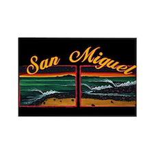 San Miguel Rectangle Magnet