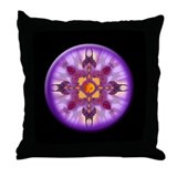 7th Chakra Throw Pillow