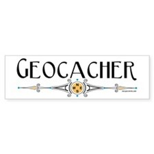 Geocacher Bumper Sticker (50 pk)