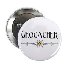 "Geocacher 2.25"" Button (10 pack)"
