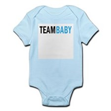 Team Baby - Blue Infant Bodysuit