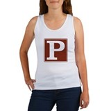 Parking Sign Women's Tank Top