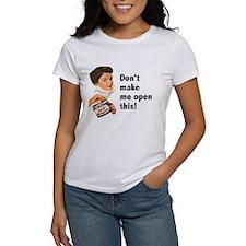 Can of Whoop-Ass Women's T-Shirt