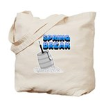 Spring Break Beer Keg Design Tote Bag