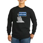 Spring Break Beer Keg Design Long Sleeve Dark T-Sh