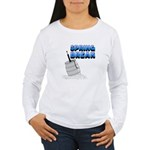 Spring Break Beer Keg Design Women's Long Sleeve T