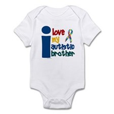 I Love My Autistic Brother 1 Infant Bodysuit
