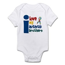 I Love My Autistic Brothers 1 Infant Bodysuit