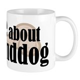 Ask about granddog Small Mugs