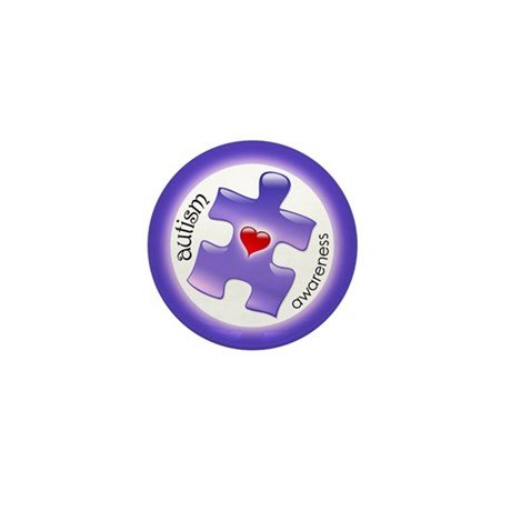 Autism Awareness (Pl3) Mini Button