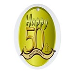 50th Anniversary Keepsake (Oval)