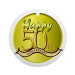 50th Anniversary Keepsake (Round)