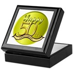 50th Anniversary Keepsake Box