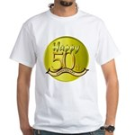 50th Anniversary White T-Shirt