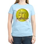 50th Anniversary Women's Pink T-Shirt