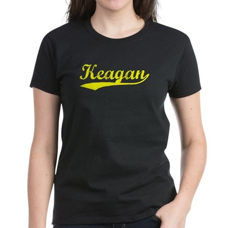 Vintage Keagan (Gold) Women's Dark T-Shirt