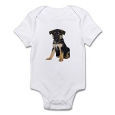 German Shepherd Picture - Infant Bodysuit