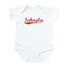 Vintage Jakayla (Red) Infant Bodysuit
