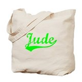 Vintage Jude (Green) Tote Bag