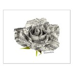 Musical Rose Small Poster