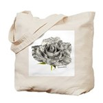Musical Rose Tote Bag