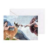 Creation of the Llama Greeting Cards (Pk of 20)