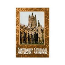 ...Canterbury Cathedral... Rectangle Magnet